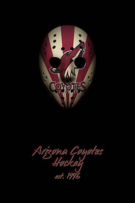 Arizona Coyotes Established Art Print by Joe Hamilton