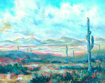 Painting - Arizona Desert by Kevin Heaney