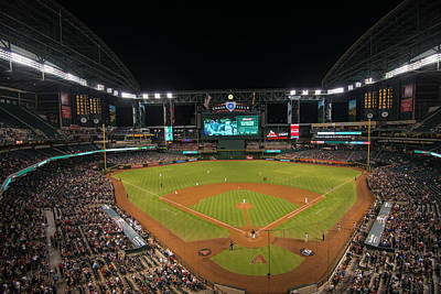 Photograph - Arizona Diamondbacks Baseball 2639 by David Haskett II