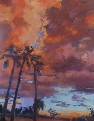 Painting - Arizona Fireworks by Kathleen Strukoff