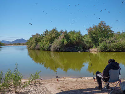 Photograph - Arizona Fisherman by Kimo Fernandez