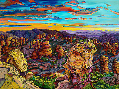 Painting - Arizona Glory by Alexandria Winslow