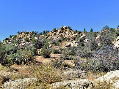 Prescott Photograph - Arizona High Desert by John Trommer