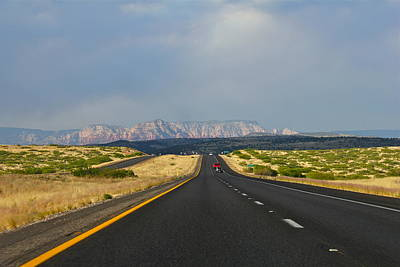 Photograph - Arizona Highway by Denise Mazzocco