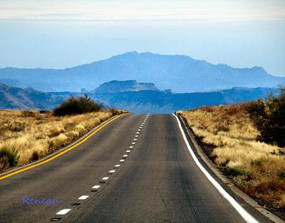 Photograph - Arizona Highways by Sadie Reneau