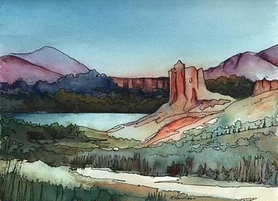 Arizona Hills Art Print by Robynne Hardison