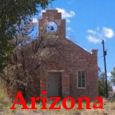 United States Mission Church Digital Art - Arizona- Hopi Church by Frederick Holiday