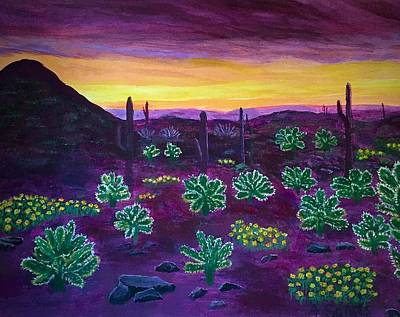 Painting - Arizona Landscape by Anne Sands