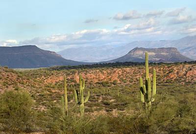 Apache Creek Photograph - Arizona Mesas by Gordon Beck