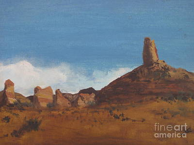 Painting - Arizona Monolith by Suzette Kallen