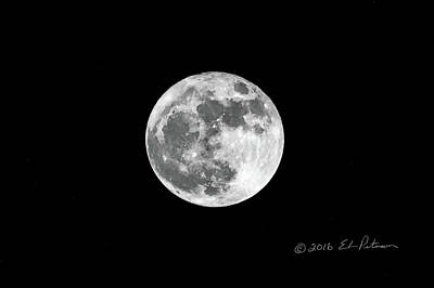 Photograph - Arizona Moon by Edward Peterson