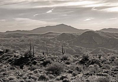 Arizona Morning Art Print by Gordon Beck