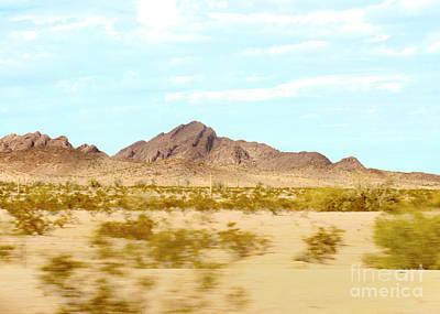 Photograph - Arizona Mountains by Claudia Ellis