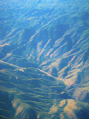 Digital Art - Arizona Mountains Digital Painting by Randy Herring