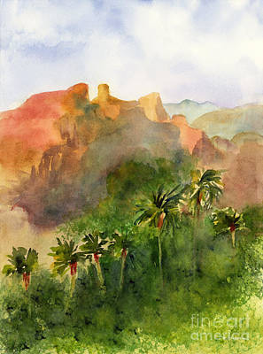 Painting - Arizona Palms by Amy Kirkpatrick