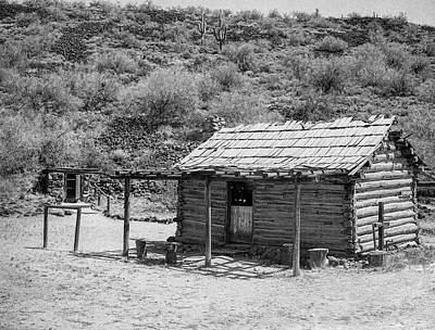Photograph - Arizona Pioneer Homestead by HW Kateley