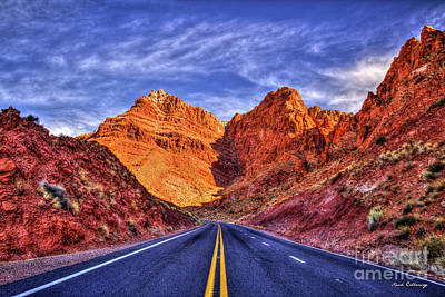Photograph - The Drive Thru Arizona Red Rocks The Grand Canyon Collection Arizona Art by Reid Callaway