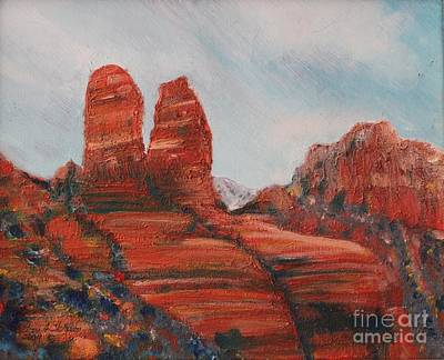 Painting - Arizona Rock Fomations by Terri Thompson