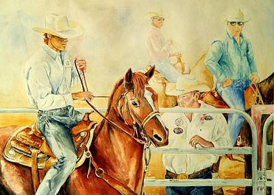 Arizona Rodeo Original by Bruce Black