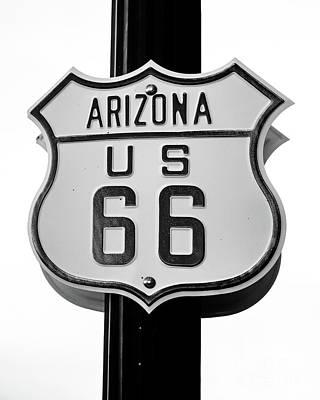 Photograph - Arizona Route 66 by Jon Burch Photography