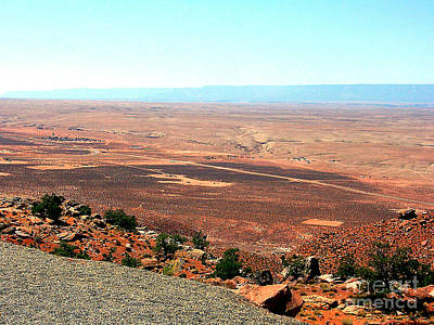 Photograph - Arizona Scenic Overlook by Merton Allen
