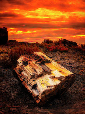 Photograph - Arizona Sky  ... by Chuck Caramella