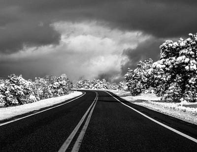 Photograph - Arizona Snow by Gregory Daley  MPSA