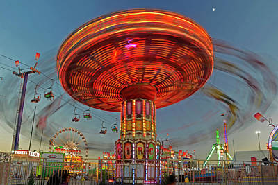 Photograph - Arizona State Fair by Brian Lockett