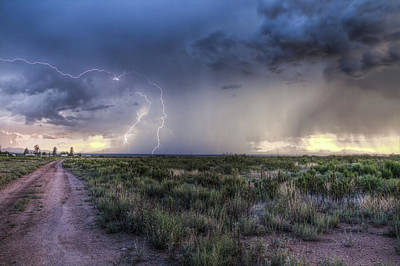 Photograph - Arizona Storm by David Cutts