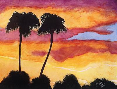 Painting - Arizona Sunrise - Scottsdale 5 A.m. by Rand Swift