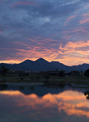 Photograph - Arizona Sunset 2 by Renee Hong