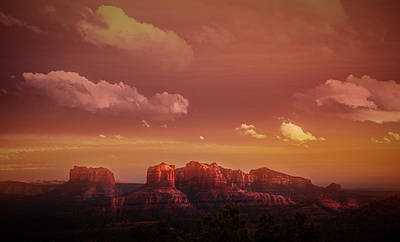 Photograph - Arizona Sunset by Elena E Giorgi