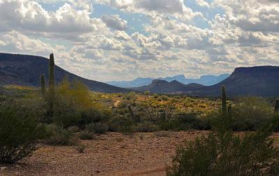 Apache Creek Photograph - Arizona Trails by Gordon Beck