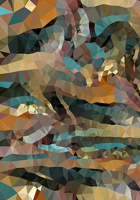 Arizona Triangles Art Print