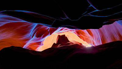 Photograph - Arizona Underground by Peter Kennett
