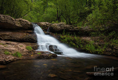 Photograph - Arizona Waterfall by Christopher L Nelson