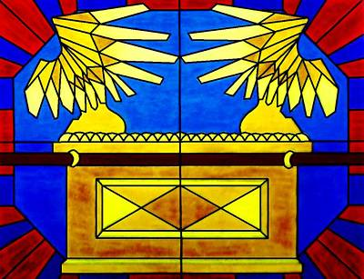 Ark Of The Covenant Art Print by Michelle Young