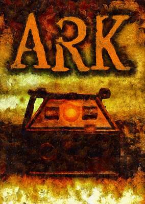 Medieval Painting - Ark by Esoterica Art Agency