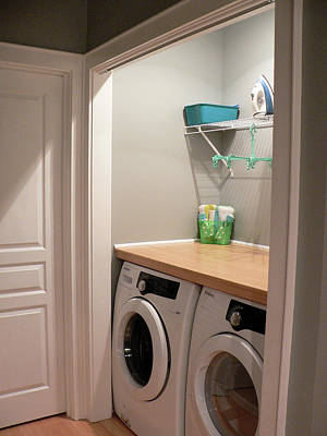 Photograph - Ark Place Laundry Area by Kathy K McClellan