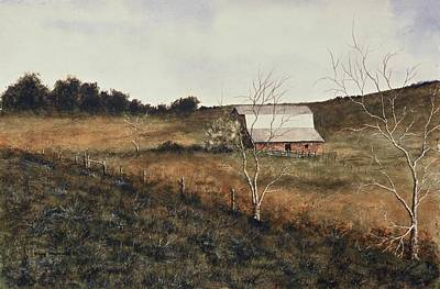 Arkansas Painting - Arkansas Barn by Jimmy Magouirk