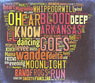 Digital Art - Arkansas - Ozark Mountains by Paulette B Wright