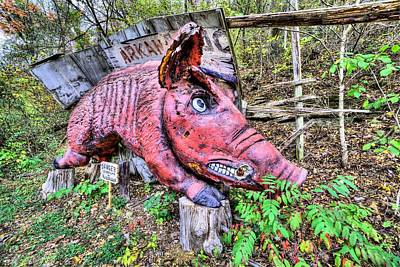 Photograph - Arkansas Razorbacks by JC Findley