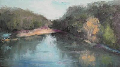 Arkansas River Scene Art Print