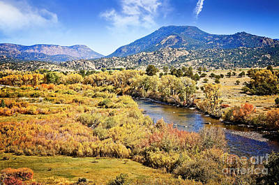 Photograph - Arkansas River by Scott Kemper