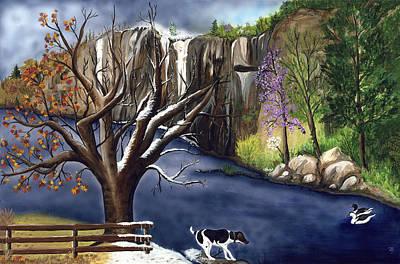 Arkansas Seasonal Glory Art Print by Patty Vicknair