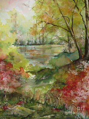 Arkansas Springtime Print by Robin Miller-Bookhout
