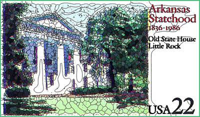 Arkansas Painting - Arkansas Statehood  by Lanjee Chee