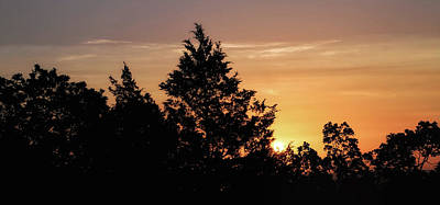 Photograph - Arkansas Sunrise by Elaine Malott