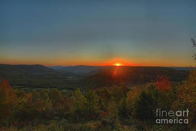 Arkansas Sunrise Art Print by Kevin Kuchler