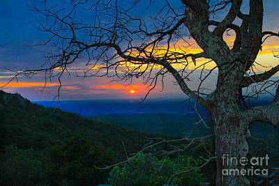 Arkansas Sunset Art Print by John Roberts